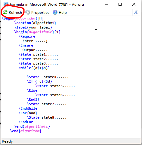 如何在Word中优雅地插入伪代码- NEUSNCP